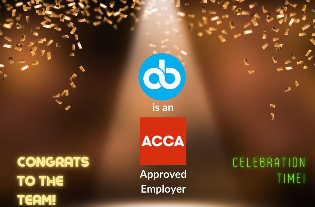 Outbooks is now ACCA approved Employer